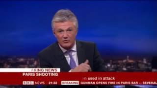 BBC Breaking News - 13/11/15 Paris Terror Attacks part 2 (9.15pm to 1am)
