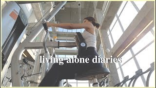 Living Alone Diaries | Working Out, Hair Salon, Cooking At Home, Cravings & Etc!