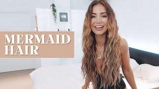 HOW TO GET MERMAID HAIR WAVES | PIA MUEHLENBECK BEACH HAIR TUTORIAL