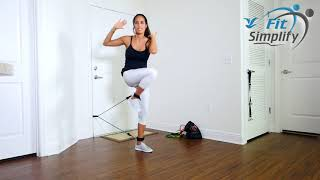 Resistance Tube Band Workout And Exercises [With Ankle Strap] (2018)