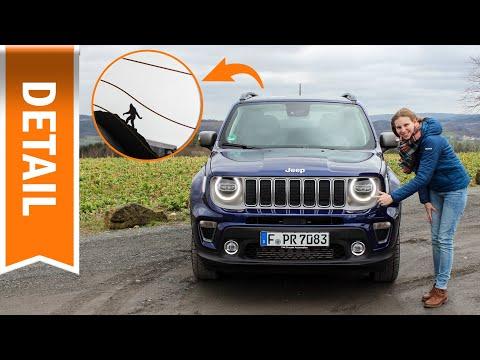 Jeep Renegade Limited 2020: Versteckte Eastereggs & witzige Symbole auf einen Blick