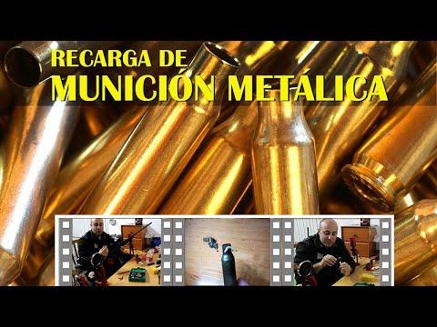 Tutorial completo de recarga de munición metálica