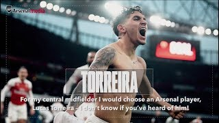 Lucas Torreira Chooses His Football Dream Team | Ultimate XI's