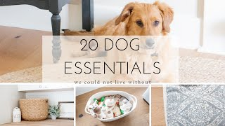 20 Essential Dog Products We Could Not Live Without
