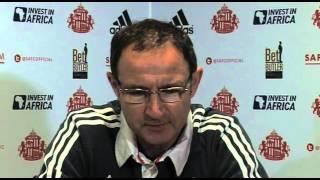 Sunderland V Liverpool - O'Neill On Manager Pressure | English Premier League 2012-13