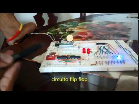 Circuito Integrado Flip Flop - Circuito De Reloj