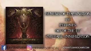 Musik-Video-Miniaturansicht zu Genesis of Termination Songtext von Defiants