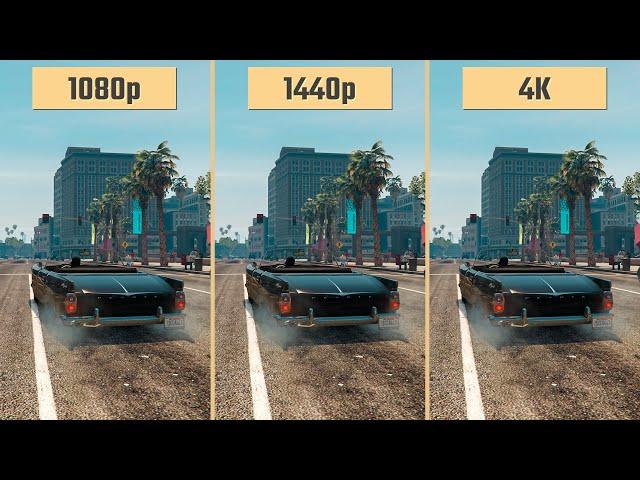 Gta 5 1080p Vs 1440p 2160p 4k Rtx 2060 Performance Comparison