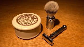 Rasierhobel: Wie Mann sich perfekt rasiert (Mühle R89 Twist)