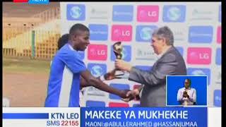 Boniface Mukhekhe wa Nakumatt FC ndiye mwanasoka bora ligi kuu mwezi Mei