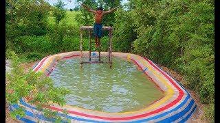 Build Summer Underground Swimming Pool