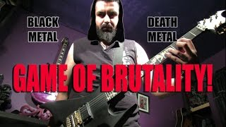 BLACK METAL VS. DEATH METAL: THE FINAL SOLUTION!