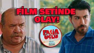 FACİA ÜÇLÜ FİLM SETİNDE OLAY!!!
