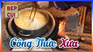 ✅  Bánh Canh Bột Lọc Nấu Với Cá Lóc | Bếp Củi TV