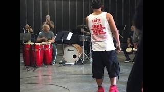 DLG (Dark Latin Groove) Feat Query George - La Voz Urbana...!!! REHEARSAL THE 33RD NY SALSA FESTIVAL