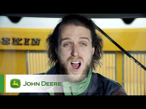 Nouveau tracteur John Deere 6R - Accélération