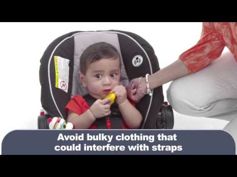 How to install an infant rear-facing seat