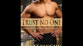 Trust No One Book Trailer