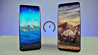 Samsung Galaxy S9 vs Galaxy S8 - Speed Test! (4K)