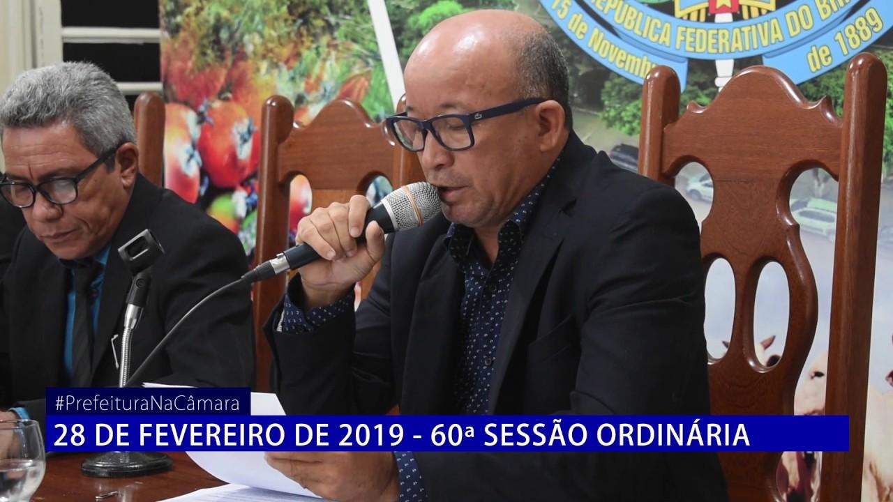 60ª Sessão – Prefeitura na Câmara