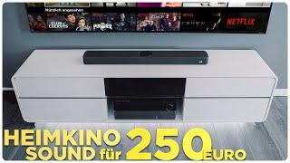 Beste Soundbar unter 250 EUR?   Polk React Soundbar   Mission Heimkino