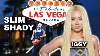 Eminem & Royce Head to Vegas. Iggy Azalea Dissed in Vegas by Bad Meets Evil