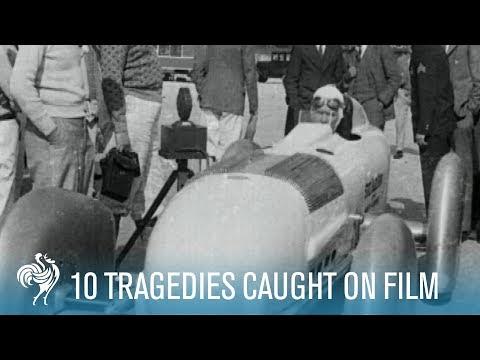 10 Momente tragice surprinse pe peliculă