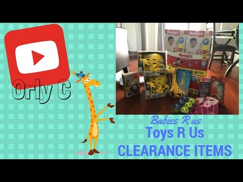 Amazing price clearance items Babies R Us and Toys R Us