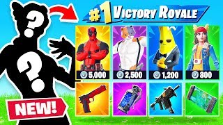 RANDOM SKIN CHALLENGE in Season 2 (Fortnite)