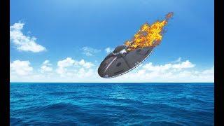 Это пытались скрыть! В Охотском море РУХНУЛ НЛО пришельцев. Получен ответ от инопланетян