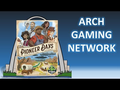 Review: Pioneer Days w/Skit, Setup & How to Play