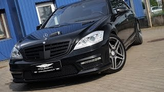 MB S Class with S63 AMG kit by Elite Motors