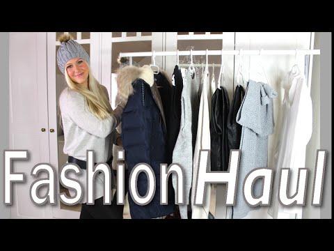 XXL FASHION HAUL I WINTER 15/16 I ZARA, H&M, TOM TAILOR
