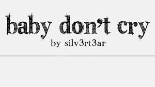 (Acoustic English Cover) EXO - Baby Don't Cry   Elise (Silv3rT3ar)