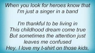 Joe Nichols - Singer In A Band Lyrics
