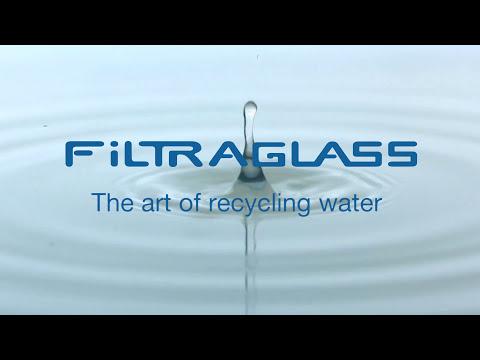 Sistema de filtración de agua para la industria del vidrio