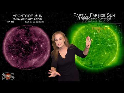 Solar Storm Forecast – July 14, 2020 at 08:00PM