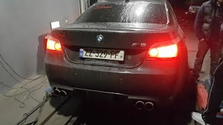 Sulava M5 E60 477 whp Come back Dyno test  ! ! !