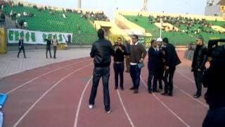 مازيكا محمد حسن فى ملعب المصرى انا متشكر تحميل MP3