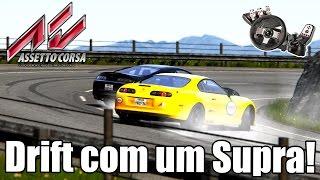 Assetto Corsa   Drift Com Um Toyota Supra! (G27 Mod)