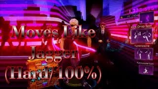 Dance Central 3 - Moves Like Jagger - (Hard/100%/Gold Stars)
