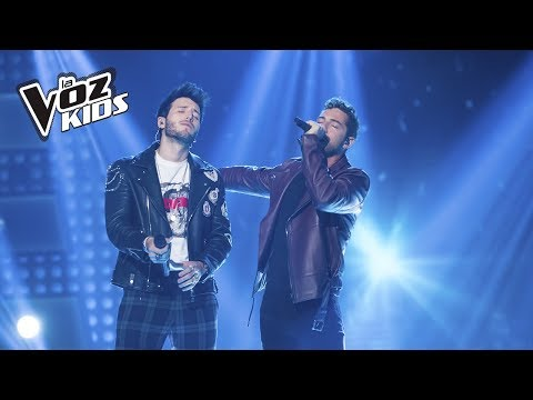 David Bisbal y Sebastián Yatra cantan A Partir de Hoy | La Voz Kids Colombia 2018