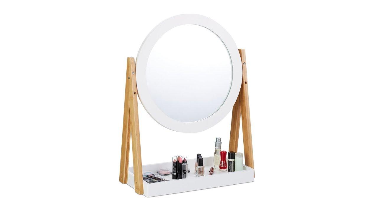 Video von: Kosmetikspiegel Bambus und MDF