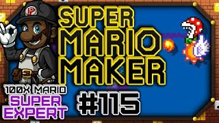 "Super Mario Maker w/ PKSparkxx #115 - 100 Mario SUPER Expert Courses | ""IT'S CHRISTMAS, AGAIN!"""