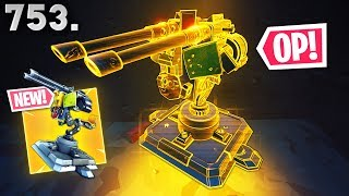 *NEW* MOUNTED TURRET IS OP! - Fortnite Funny WTF Fails And Daily Best Moments Ep.753