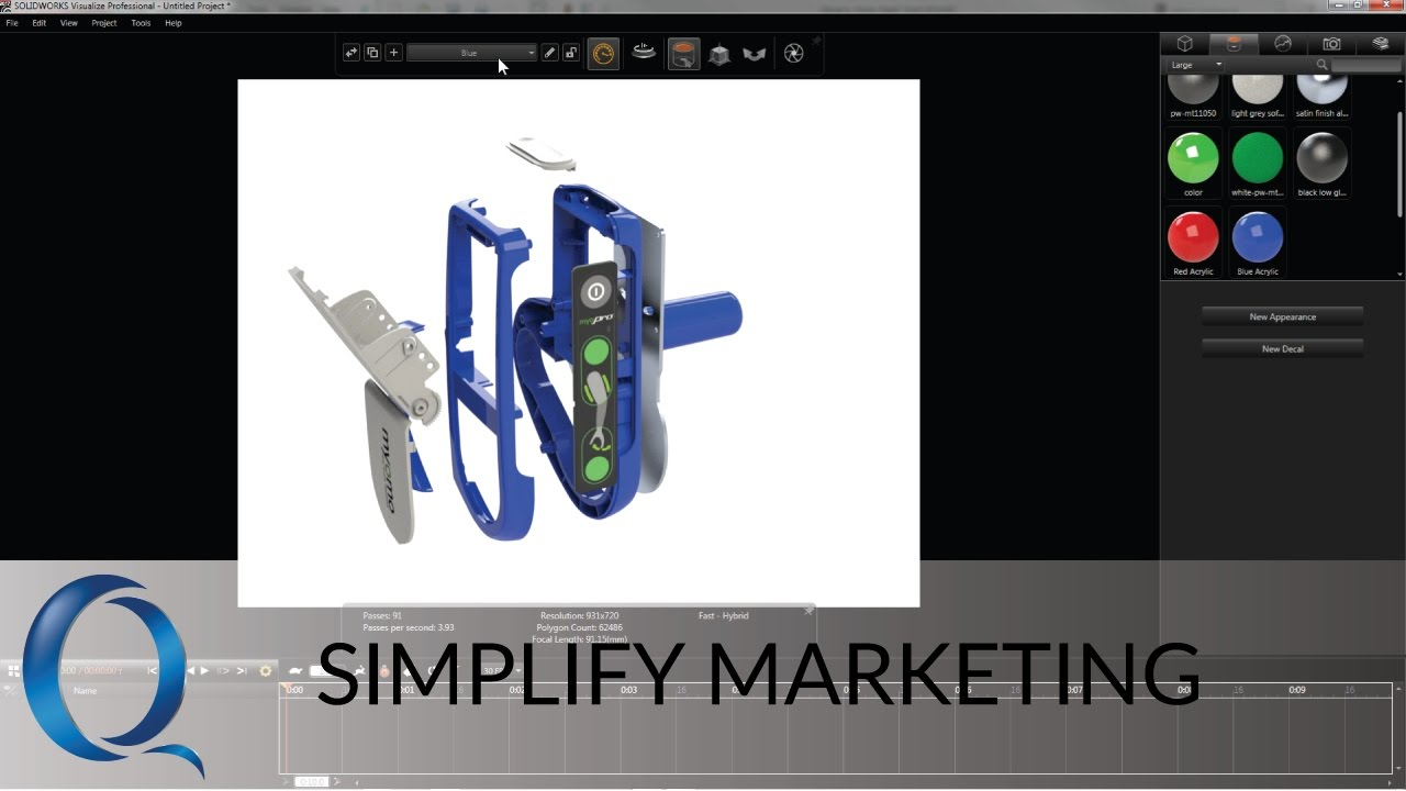 Simplify Marketing with SOLIDWORKS Visualize