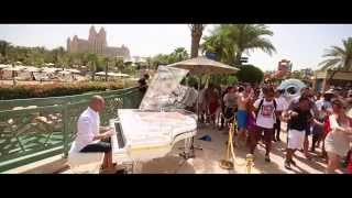 Top Hits played in Atlantis The Palm on a Bluthner Crystal Piano - Maan Hamadeh