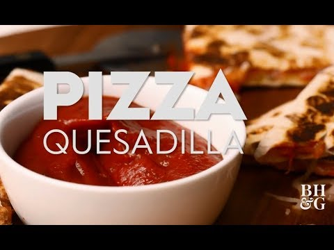 Pizza Quesadilla | Cooking: How-To | Better Homes & Gardens
