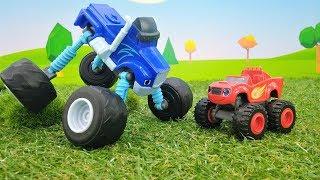 Машинки Вспыш и Крушила тренируются. Мультики для мальчиков.