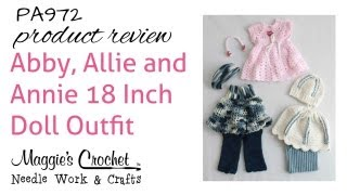 Abby, Allie And Annie 18 Inch Doll Outfit PA972